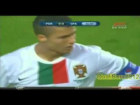 Cristiano Ronaldo AMAZING Goal vs. Spain  [OFFSIDE]