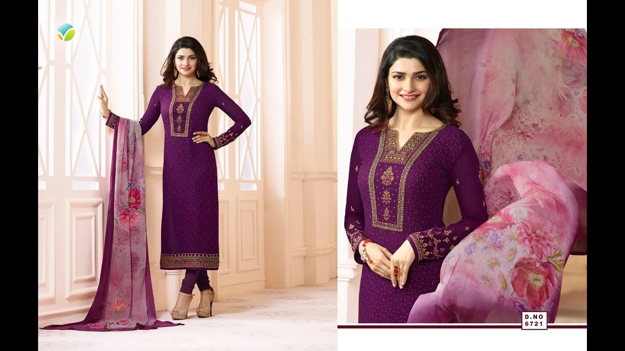 1ae380656d Latest Salwar Suits Indian Collection 2018 || Vinay Fashion || Kaseesh  Timeless Ready to Ship 🚀🚀🚀