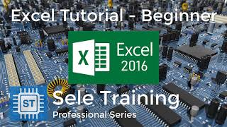 Excel Tutorial - Beginner