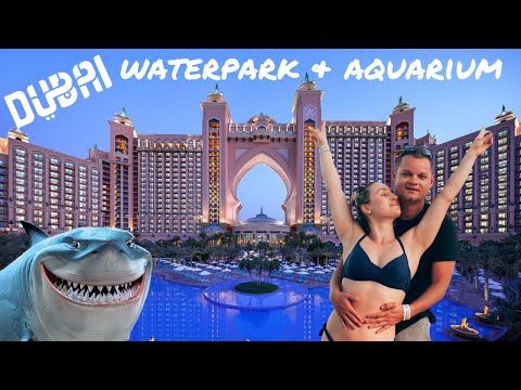 Dubai Aquaventure Waterpark & Lost Chambers Aquarium 2021 (Vlog)