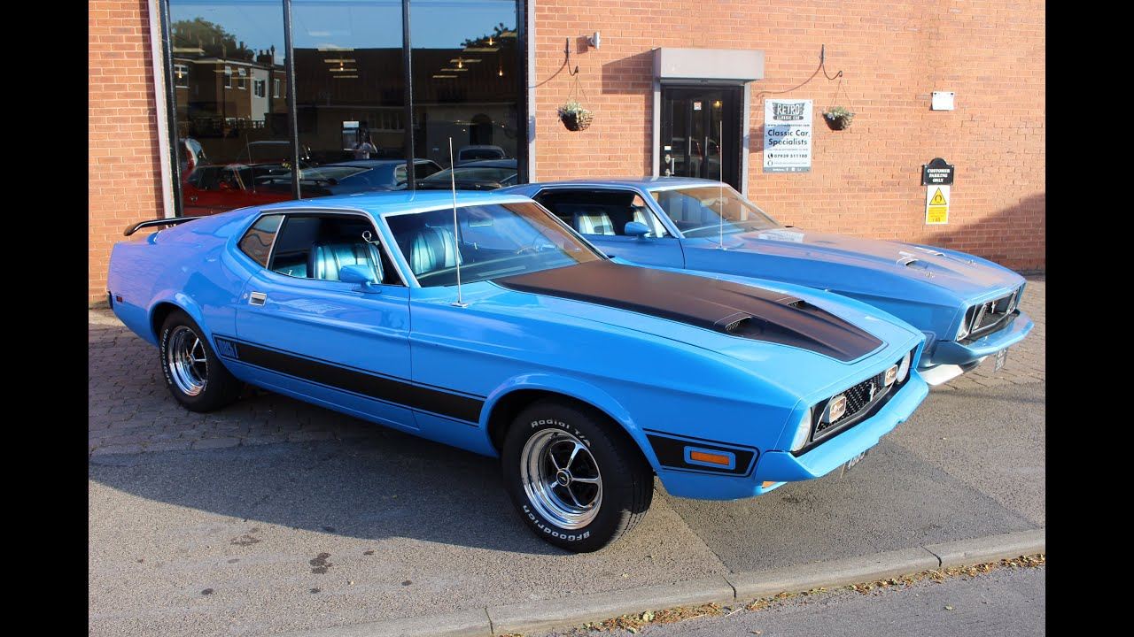 2 stunning ford mustang mach 1s