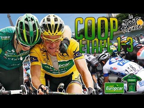 Tour de France 2015 | Coop Europcar Facecam | Etape 1 à 3