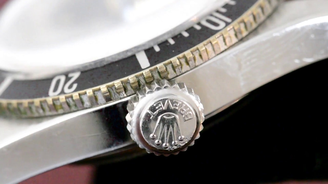 Rolex The Big Crown James Bond Ref 6538