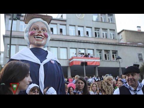 ¡Así vive Basauri las fiestas de San Fausto!