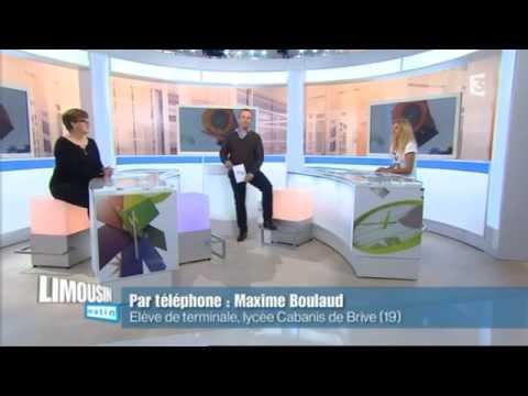 France 3 Limousin Matin - 07 novembre 2014