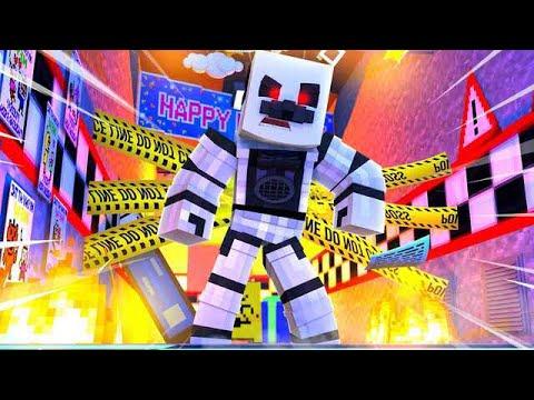 Evil Funtime Freddy Attacks! Minecraft FNAF Roleplay