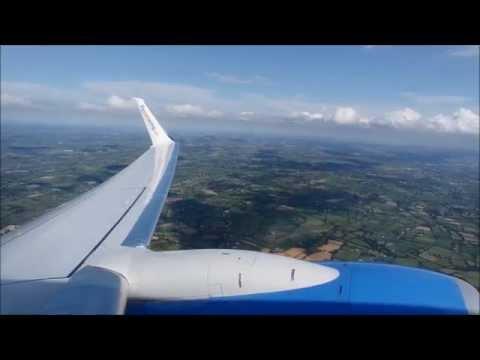 Sunwing Airlines (Thomson) Boeing 737-800 Takeoff At Belfast International