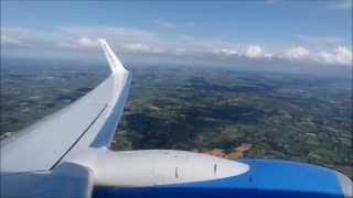 Gambar cover Sunwing Airlines (Thomson) Boeing 737-800 takeoff at Belfast International