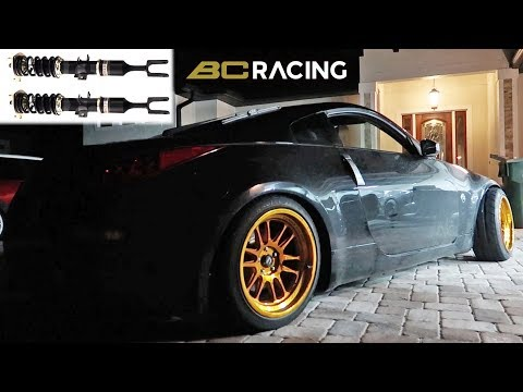 350Z Gets Long Stroke BC Coilovers