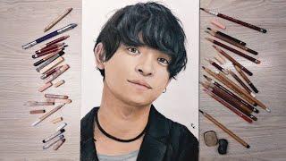 Рисую портрет пастелью Такуя Яманака из THE ORAL CIGARETTES Drawing with pastel portrait Takuya Yamanaka from THE ORAL CIGARETTES THE ...