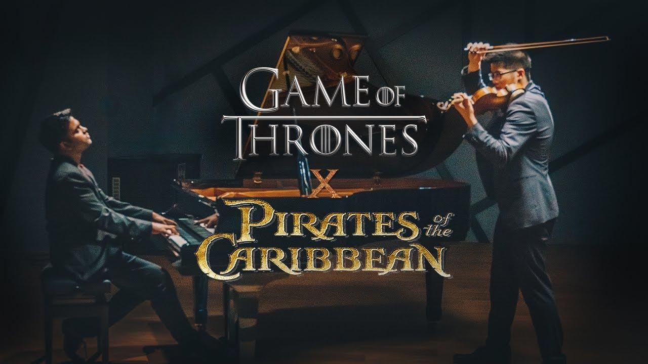 Download Pirates of the Caribbean X Game of Thrones   Piano/Violin Cover   Eshan Denipitiya & David Loke