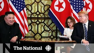 2nd Trump-Kim summit ends abruptly with no nuclear deal