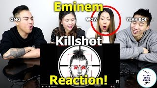 KILLSHOT [Official Audio] | Reaction - Australian Asians看阿姆火力全開炮轟回應MGK