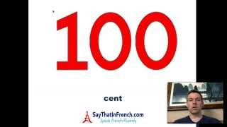 How To Say French Numbers 1 100