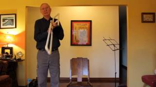 How to build a homemade handmade Trombone from ABS pipe