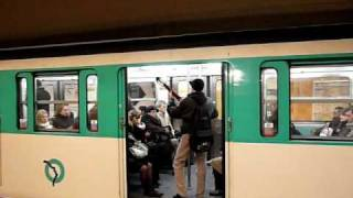 Paris Metro パリメトロ6号線MP73系電車Charles de Gaulle - Étoile駅