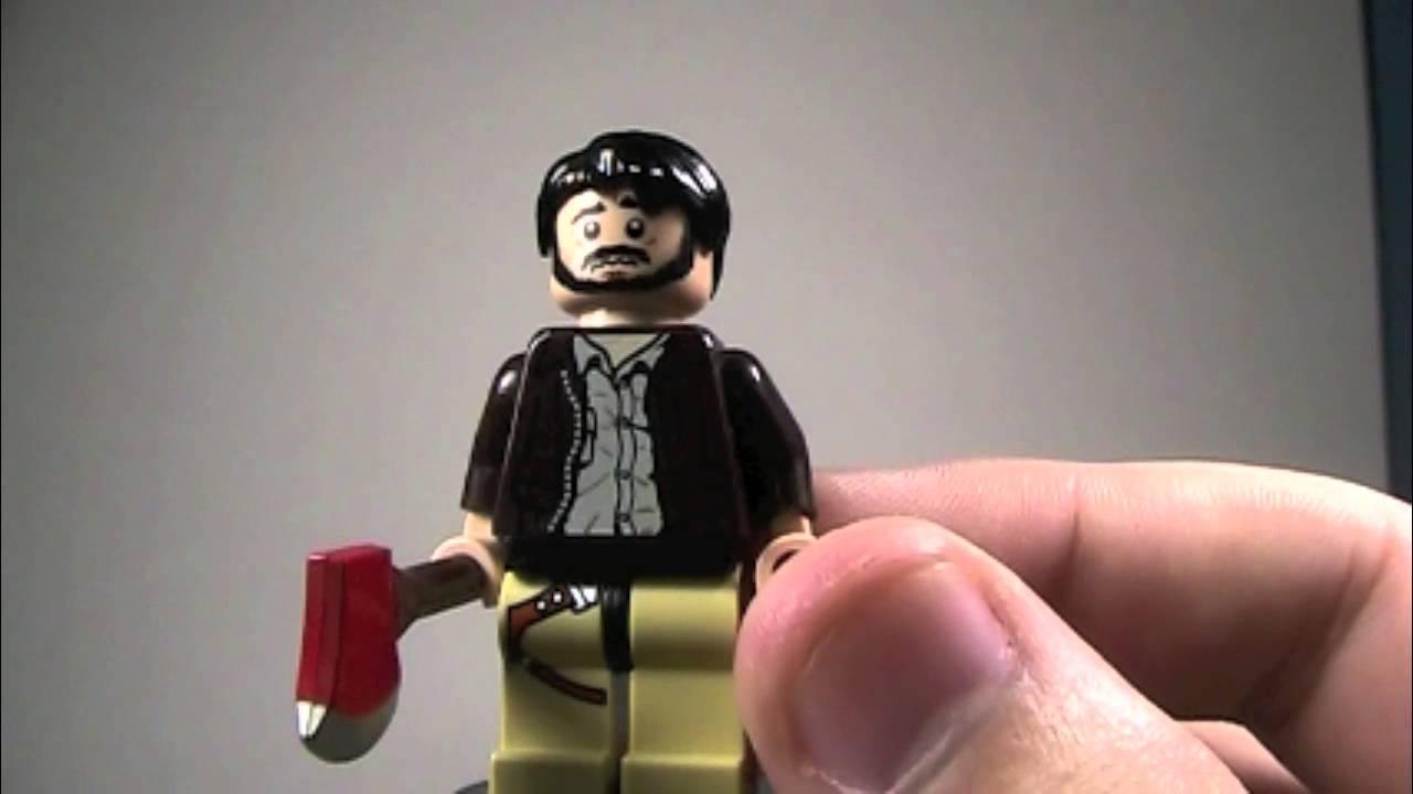custom lego the walking dead figures wave 8 youtube. Black Bedroom Furniture Sets. Home Design Ideas
