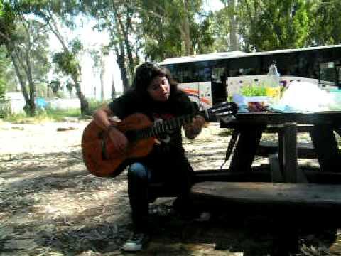 "Noy Performing Yoram Hazan;""Knesiat Hasechel"" solo..."
