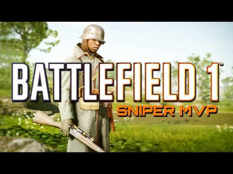 Battlefield 1: Sniper MVP on NEW Frontlines Game Mode - They Shall Not Pass DLC (PS4 PRO Gameplay)