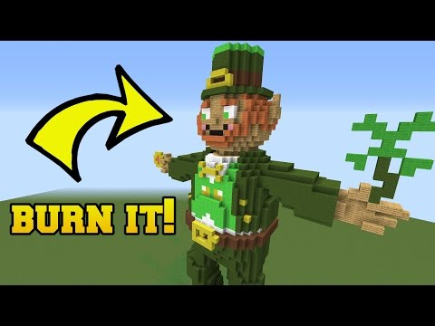 IS THAT A LEPRECHAUN?!? BURN HIM!!! - Видео из Майнкрафт (Minecraft)