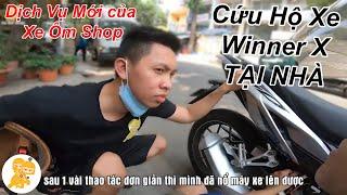 CỨU HỘ TẠI NHÀ Xe Honda Winner X LỖI CHỐNG TRỘM Pitech - Xe Ôm Shop