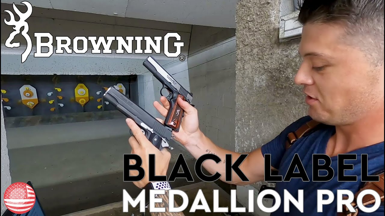 Browning 1911 Black Label 380 Medallion Pro Review (Browning Black Label 1911)