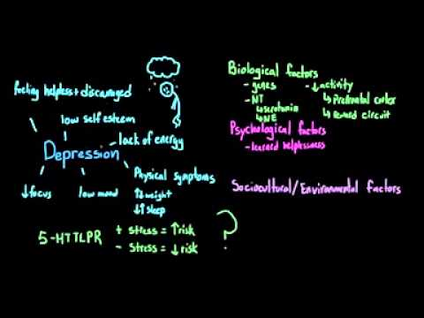 Introduction to Psychology   Depression and Major Depressive Disorder