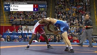 Olympic Wrestling Trials | Kyle Dake vs Richard Perry | Full Match