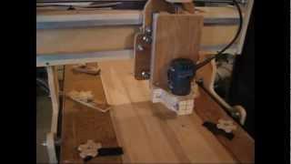 Repeat youtube video DIY CNC Routing Ragwing Stork Rib