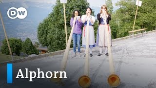 Das Alphorn - ein Stück Schweizer Kultur   Euromaxx