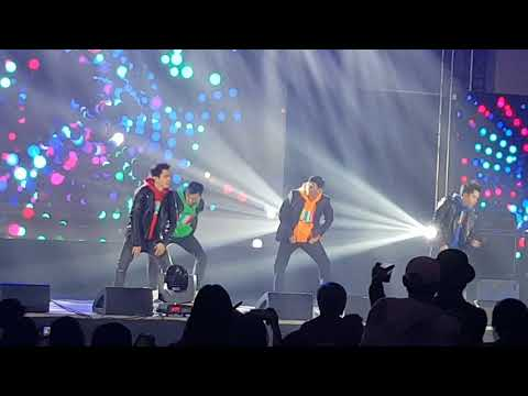 Explicit Performance by The 90's Dance Hearthrobs UMD ( Universal Motion Dancers ) at SMX Aura