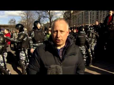 Russia protests: Crowds take to streets over corruption