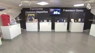Los trofeos y recuerdos de Gento ya se pueden visitar en el Tour del Bernabéu