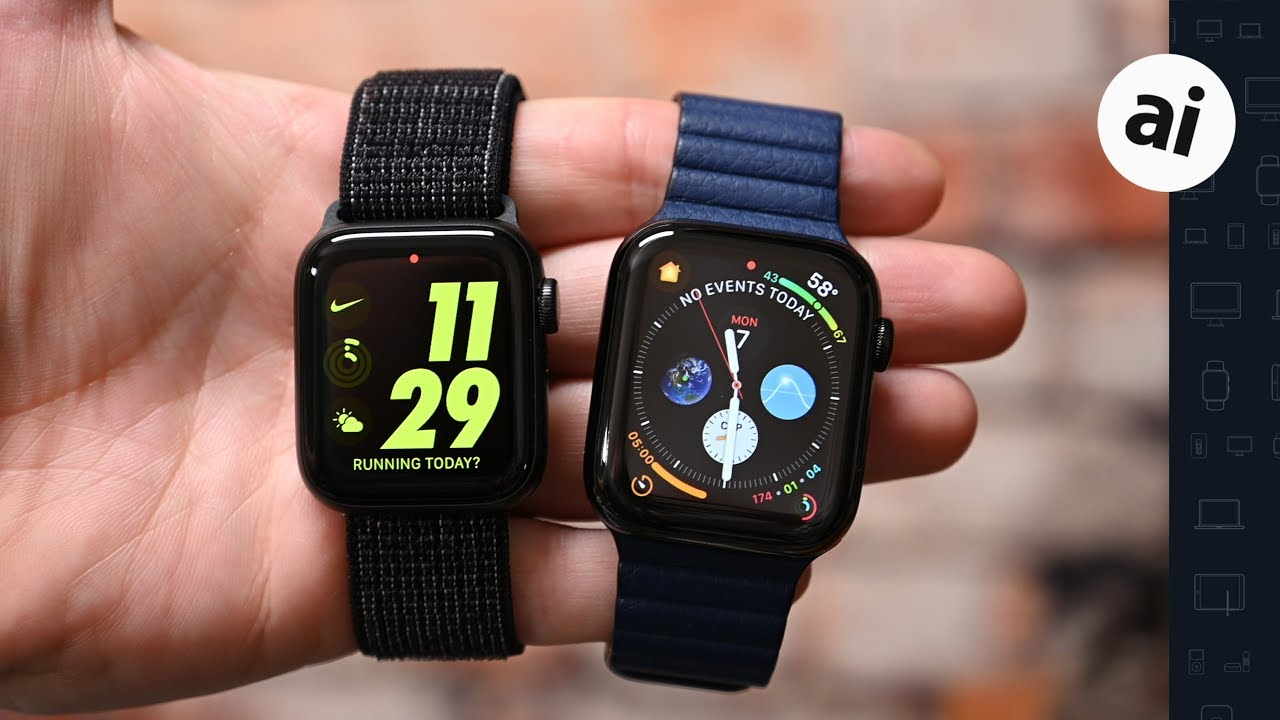 Should You Buy the Nike or Standard Apple Watch Series 5?