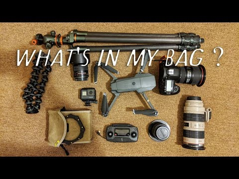 Travel Photography Gear | Q&A: What's in My Bag?