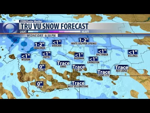 Afternoon snow showers expected