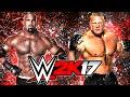 Wwe 2k17 - Goldberg Vs Brock Lesnar! (wwe 2k17 Goldberg Dlc Details) video