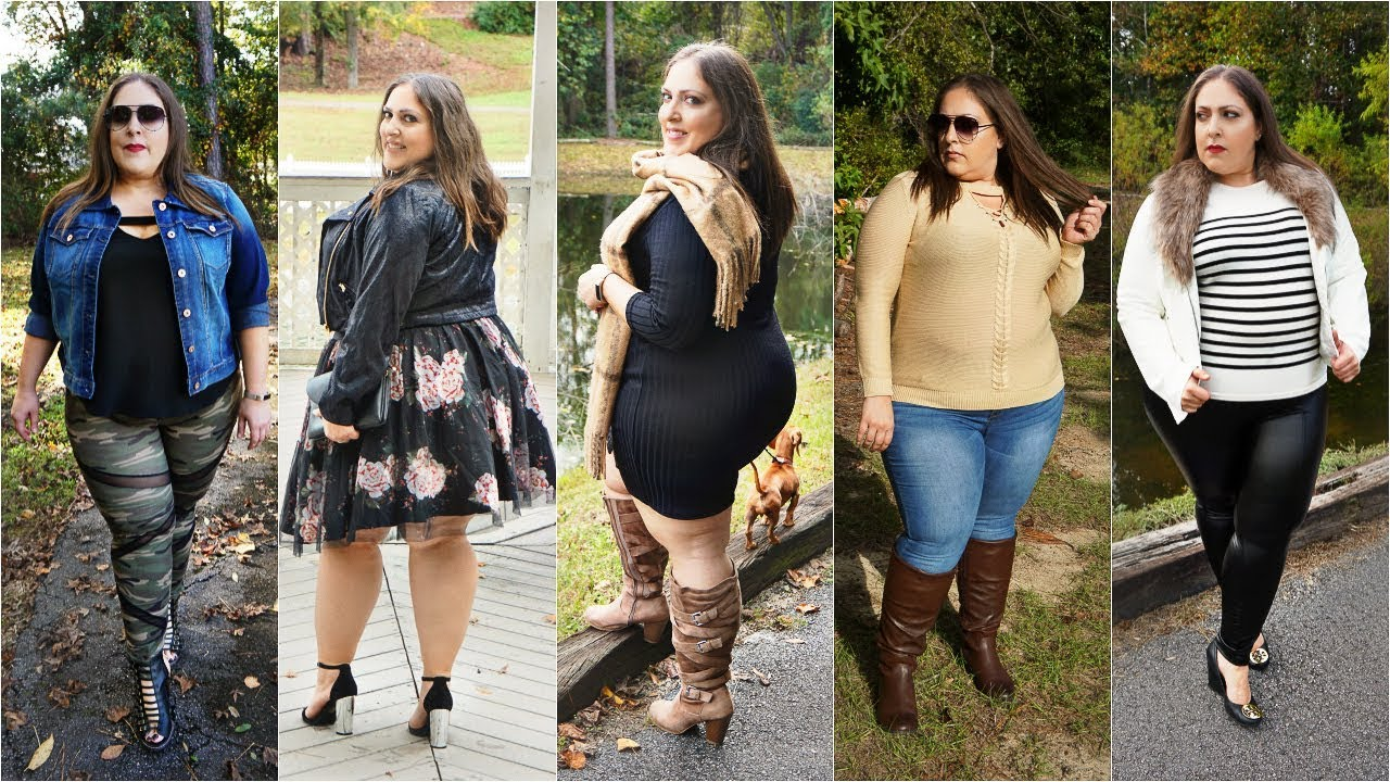 5 Thanksgiving Outfit Ideas 2018   Thanksgiving Lookbook Fall Outfits 2018   Plus Size Fashion