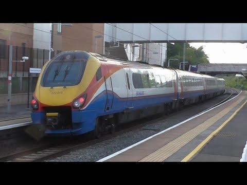 Trains at Radlett and Elstree & Borehamwood, MML - 07/07/17
