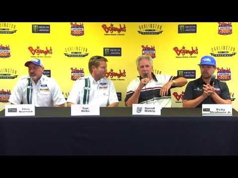 2017 NASCAR Darlington Bill Elliott, Stenhouse, Waltrip Q&A