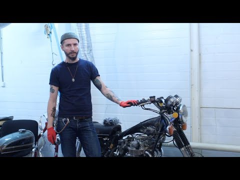 Восстановление мотоцикла Honda CB550 F. 4-я серия.
