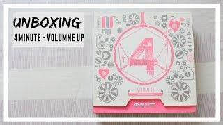 UNBOXING: 4MINUTE - VOLUMNE UP // MLSS