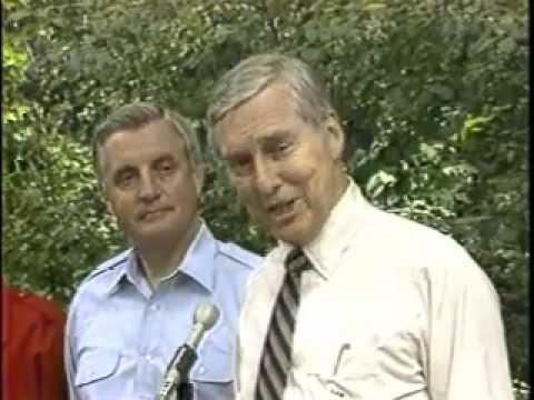 Robert Riggs Reports Senator Lloyd Bentsen Interview for Walter Mondale Running Mate 1984