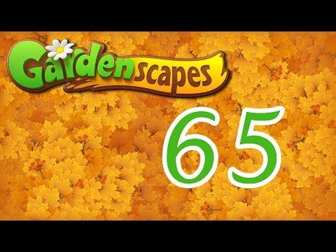 Gardenscapes level 65 Walkthrough