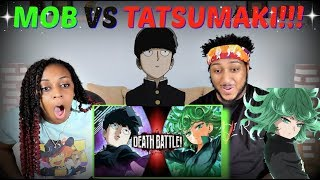 "Death Battle! ""Mob VS Tatsumaki (Mob Psycho 100 VS One Punch Man)"" REACTION!!"