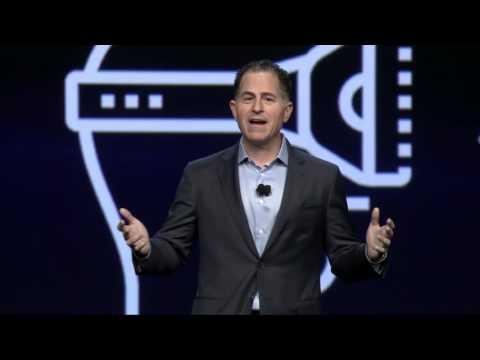Dell EMC World Michael Dell Keynote Highlights