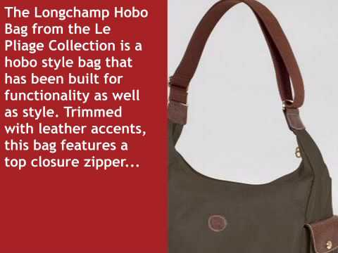 pieghevole Youtube Longchamp The Hobo Bag wqwIZvH