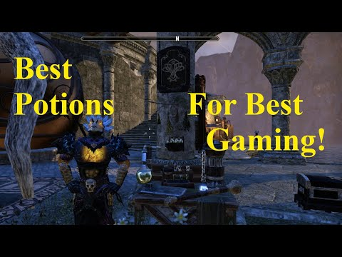 ESO Best Potions For Best Game Play!