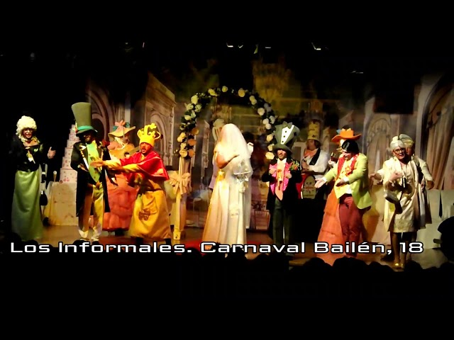 Los informales 2018 Carnaval Bailén