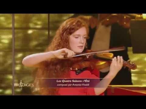 """Camille 15 ans, violoniste, joue """"Les Quatre Saison : Eté"""" de Vivaldi - Prodiges"""